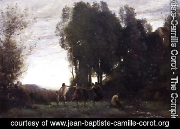 Jean-Baptiste-Camille Corot - Circle of Nymphs, Morning
