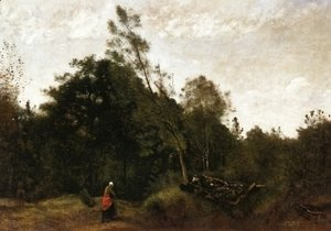 Jean-Baptiste-Camille Corot - Forest Clearing in the Limousin I