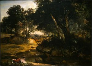Jean-Baptiste-Camille Corot - Forest of Fontainebleau 2