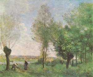 Jean-Baptiste-Camille Corot - Erinnerung an Coubron