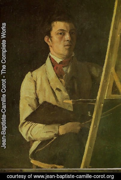 Jean-Baptiste-Camille Corot - Self-portrait at 29