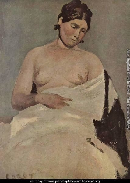 Seated Woman with chest