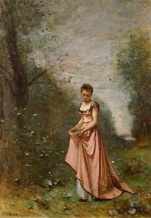 Jean-Baptiste-Camille Corot - Springtime of Life