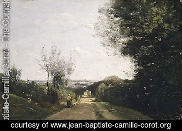 Jean-Baptiste-Camille Corot - The Environs of Paris 1860s
