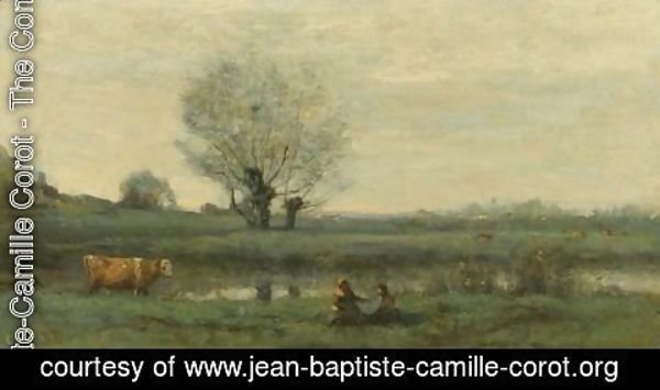 Jean-Baptiste-Camille Corot - Paysage 2