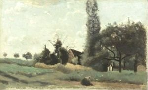 Jean-Baptiste-Camille Corot - Marcoussis