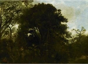 Jean-Baptiste-Camille Corot - Study Of Trees