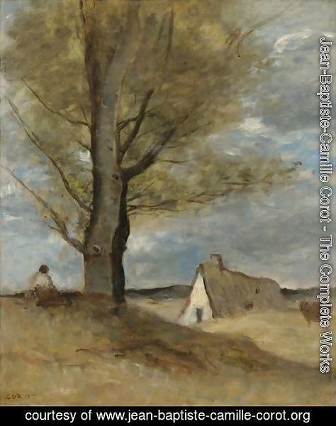 Study Of A Landscape With Figure