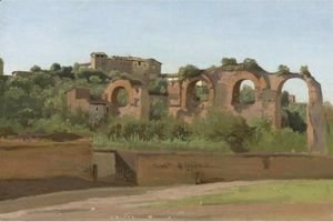Jean-Baptiste-Camille Corot - View Of The Ruins Of The Claudian Aqueduct, Rome, Near San Giovanni In Laterano And The Villa Wolkonsky