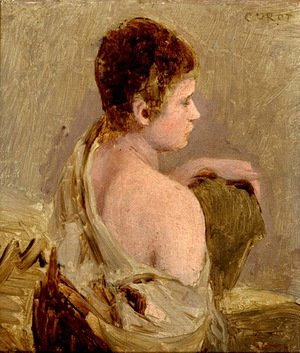 Jean-Baptiste-Camille Corot - Young Man with Naked Shoulder