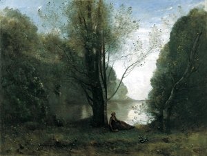 Jean-Baptiste-Camille Corot - The Solitude. Recollection of Vigen, Limousin 2