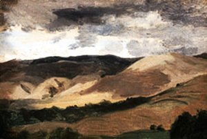 Jean-Baptiste-Camille Corot - Mountains of  Auvergne
