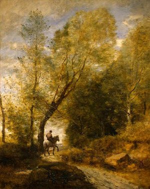 Jean-Baptiste-Camille Corot - The Forest of Coubron