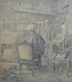 Corot in the Studio of Constant Dutilleux